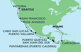 Canal de Panama : Miami - Seattle