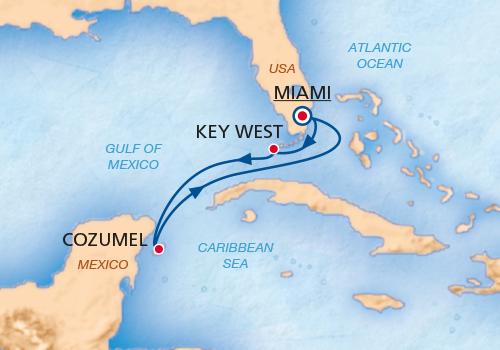 Caraïbes de l'Ouest de Miami