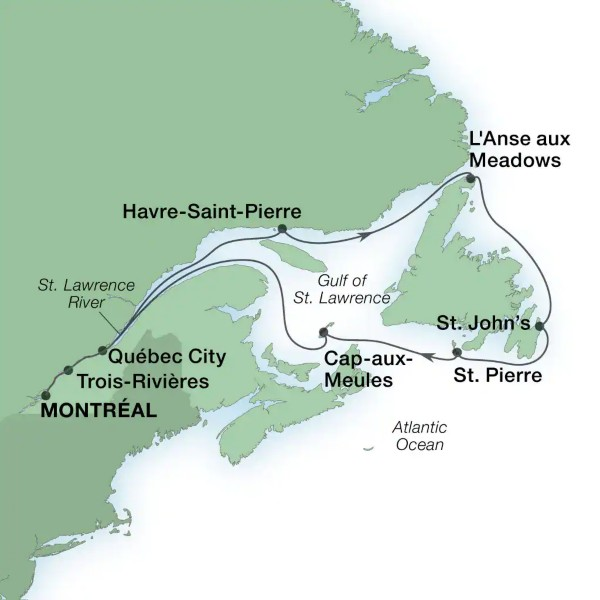 Croisière Canada
