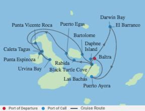 Croisière Galapagos