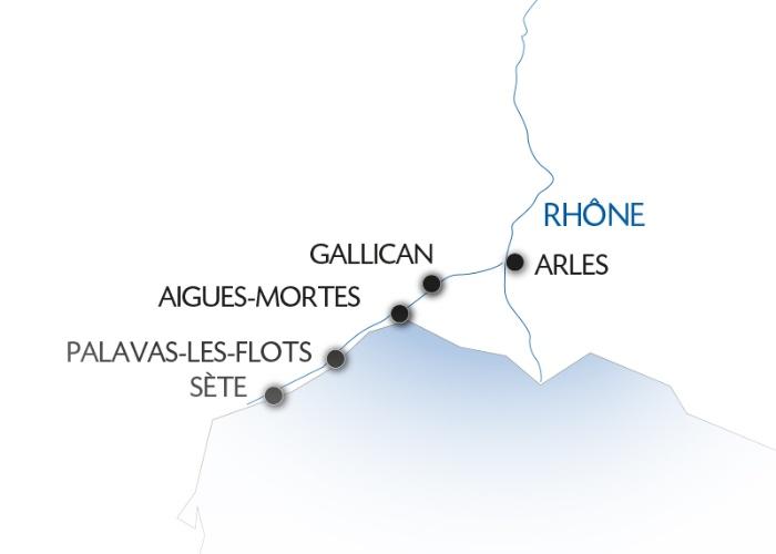 Croisière d'Arles à Sète