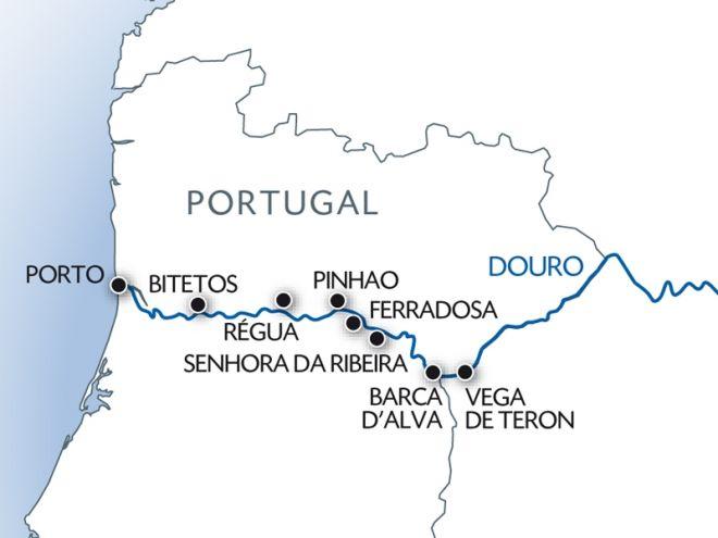 Porto , la vallée du Douro (Portugal) et Salamanque (Espagne)