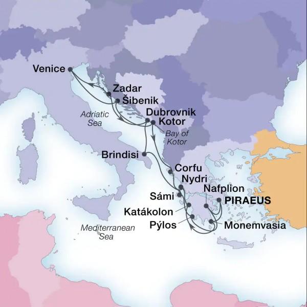 Iles Grecques & Adriatique