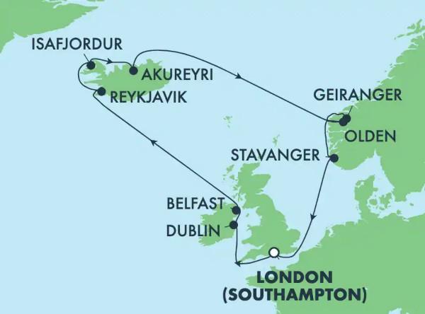 Islande : Reykjavik, Dublin et Belfast