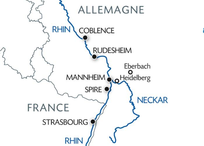 La Majestueuse Vallee du Rhin Romantique