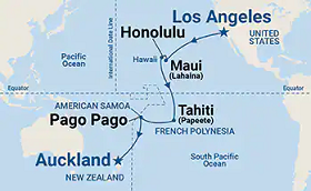 Los Angeles - Auckland