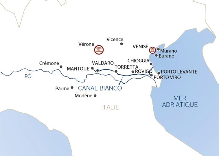 Mantoue, bijou de la Renaissance, à Venise