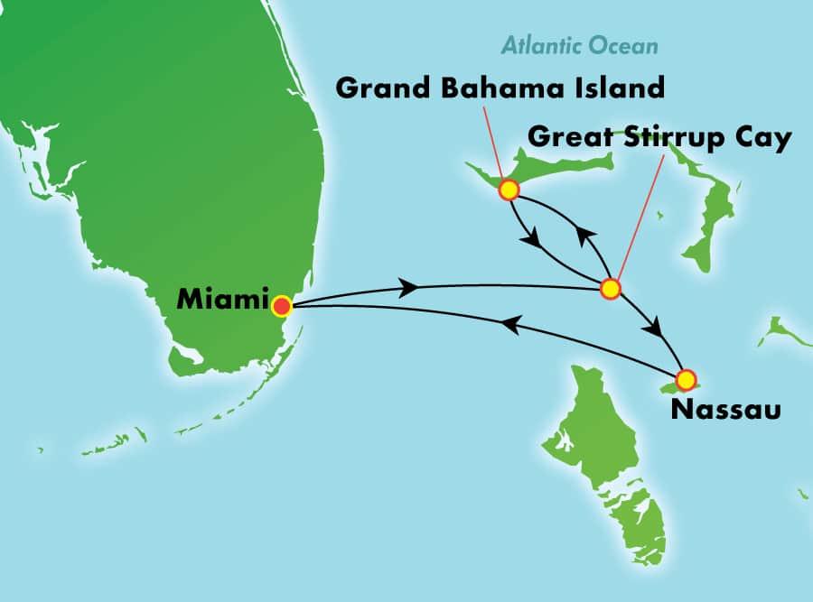 Mini Croisière Bahamas
