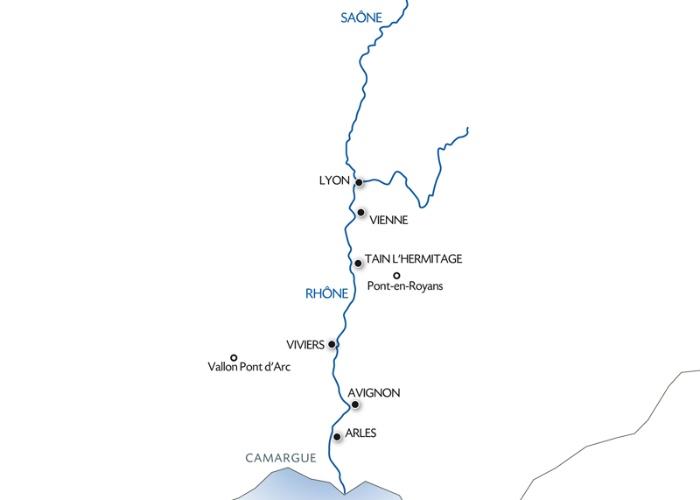 Rhône Provençal et la Camargue