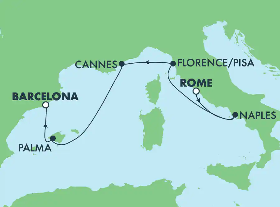 Rome - Barcelone