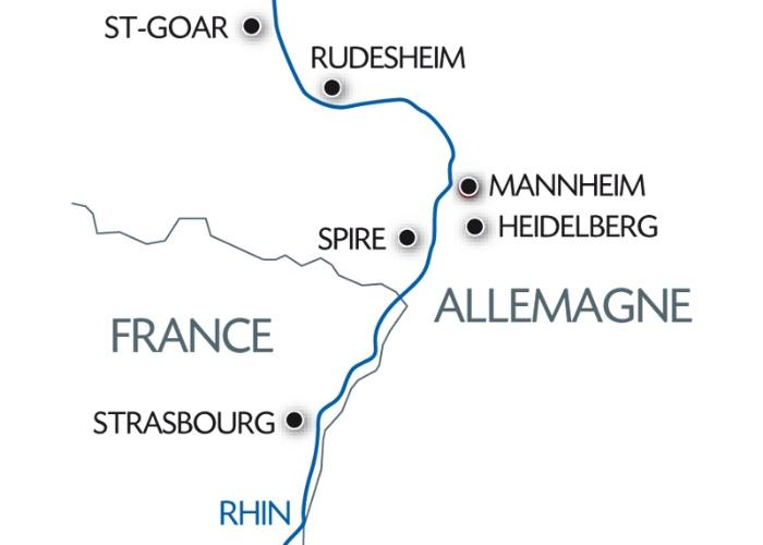 Réveillon Rhénan : le Rhin Romantique et ses Châteaux