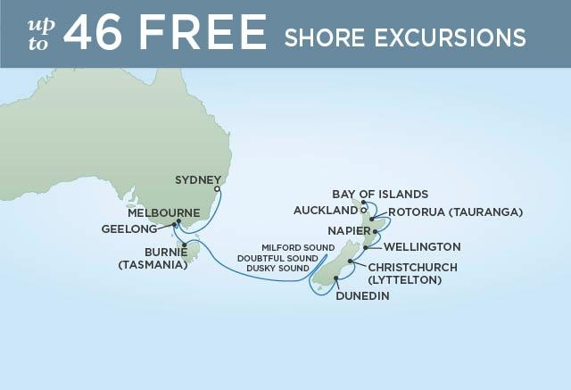 Sydney - Auckland