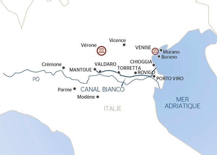 Venise, la cité des Doges, à Mantoue