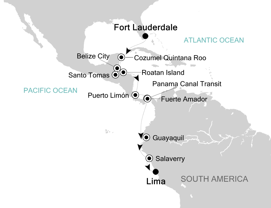 Fort Lauderdale - Lima (Callao)