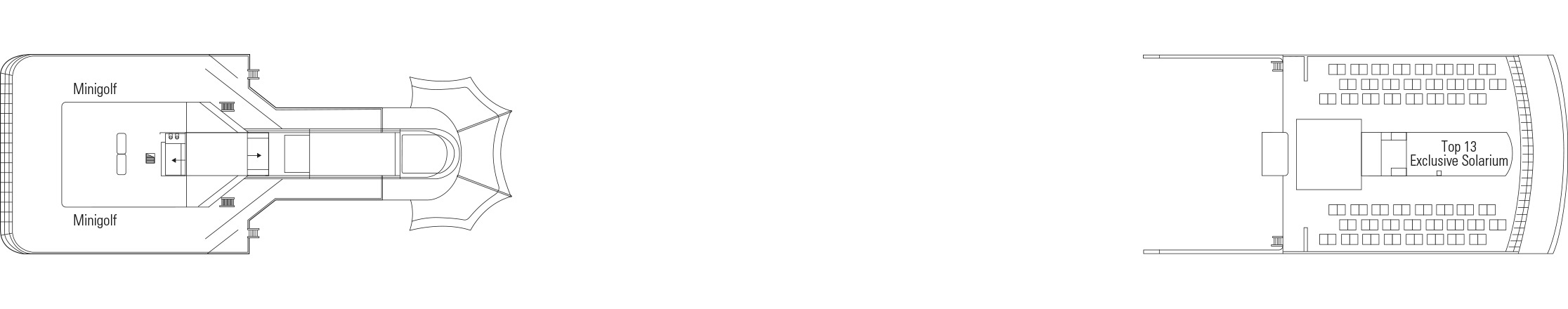 Pont Sun Deck/Minigolf