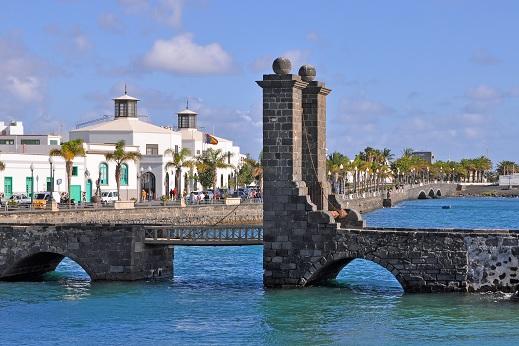 Arrecife de Lanzarote & Iles Canaries
