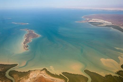 Navigation dans le Golfe d'Exmouth