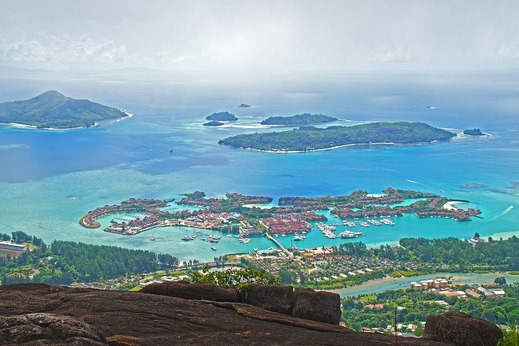 Victoria, île de mahé