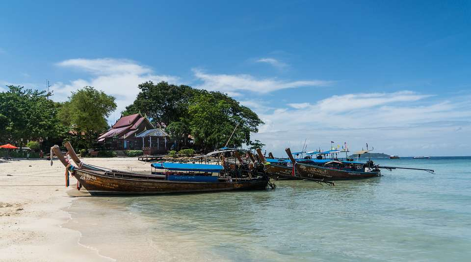 Navigation en mer d'Andaman