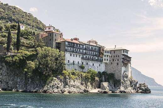 Navigation Mont Athos