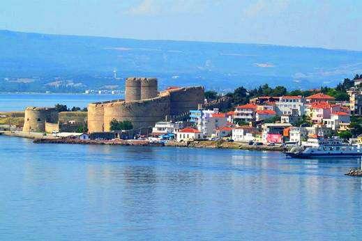 Detroit des Dardanelles - Mer de Marmara
