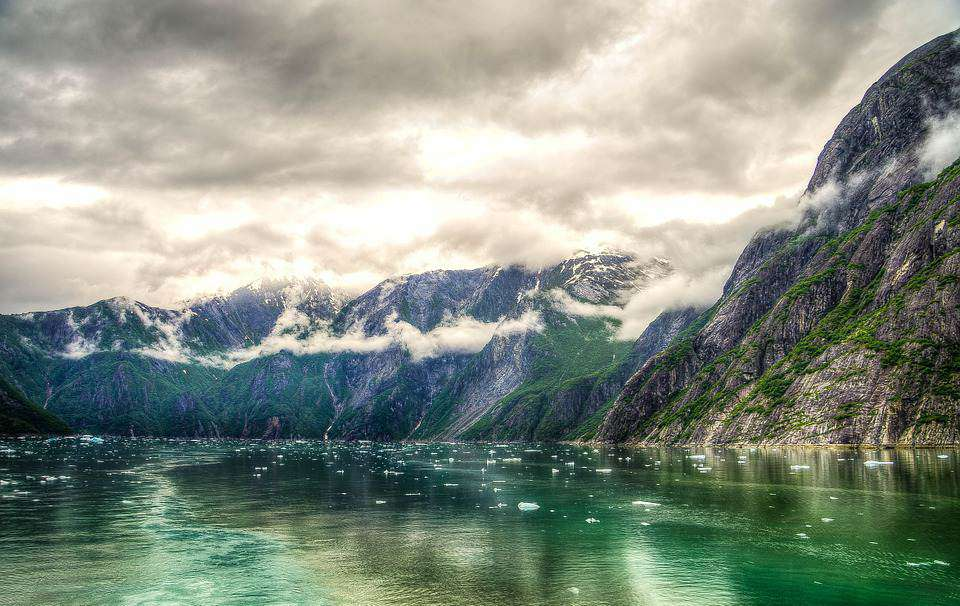 Tracy Arm/Sawyer Glacier/Alaska