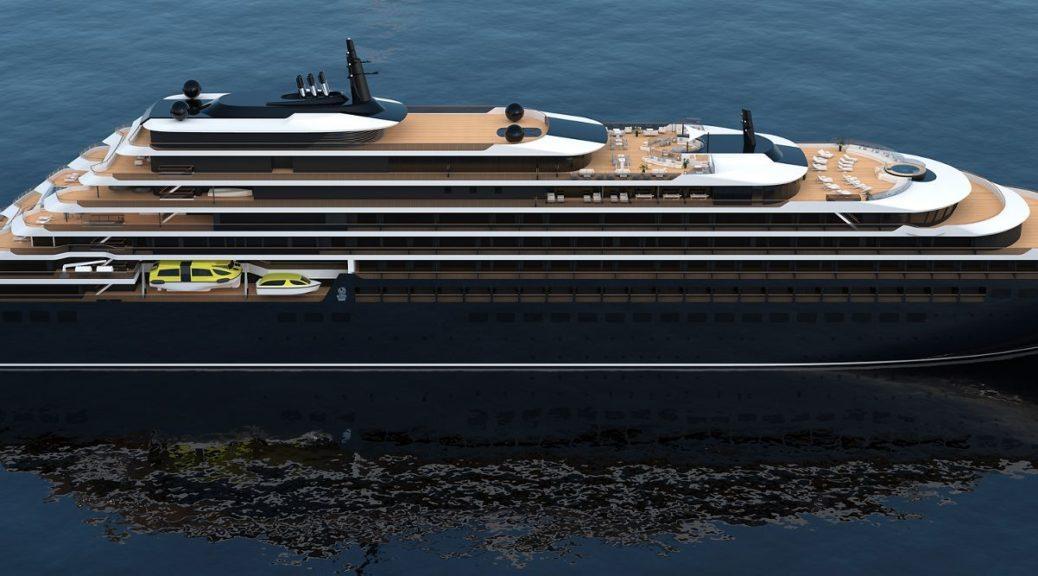 Le bateau de croisière Ritz-Carlton Yacht Collection.