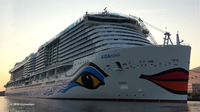 AIDAnova, premier navire de croisière écologique