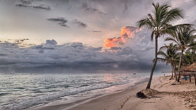 Paysage de la république Dominicaine lors d'une croisière.