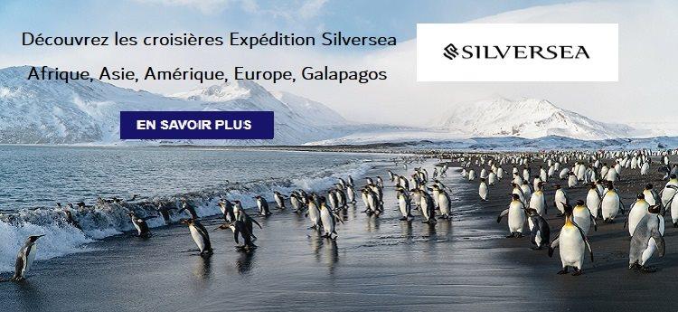 Silversea : les Expéditions